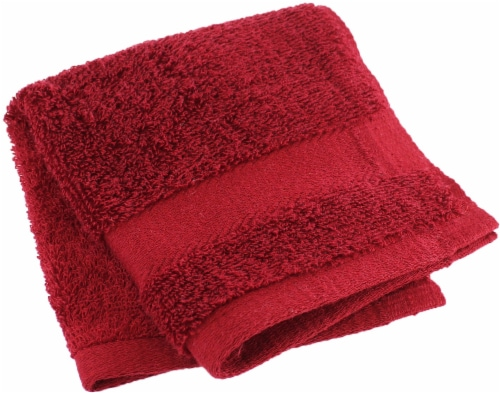 American Heritage Washcloth - Biking Red Perspective: front