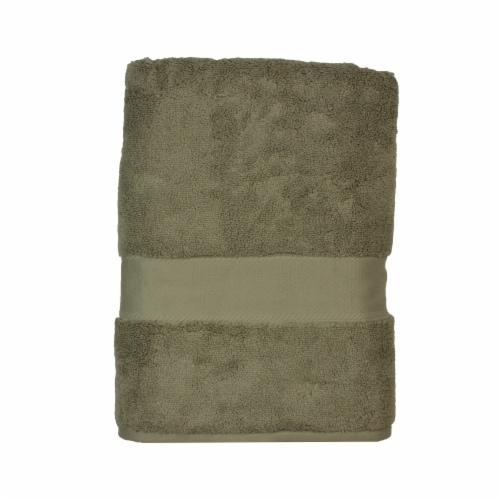 American Heritage Bath Towel - Linen Perspective: front