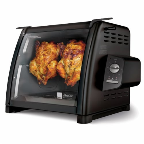 Ronco 5500 Series Rotisserie Oven - Black Perspective: front