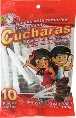 Mi Dulce Mexico Tamarind Cucharas Perspective: front