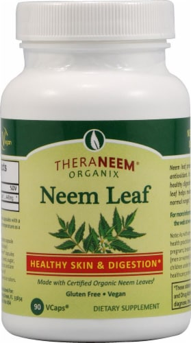 Organix South  TheraNeem® Neem Leaf Healthy Skin and Digestion Perspective: front