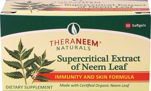 Organix South  TheraNeem® Naturals Supercritical Extract of Neem Leaf Perspective: front