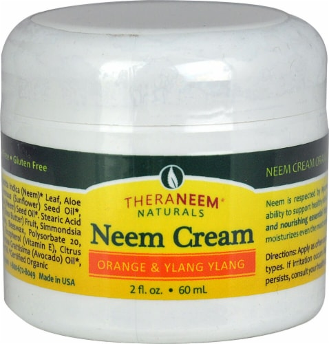 Organix South TheraNeem™ Theraneem Naturals Neem Cream Orange & Ylang Ylang Perspective: front