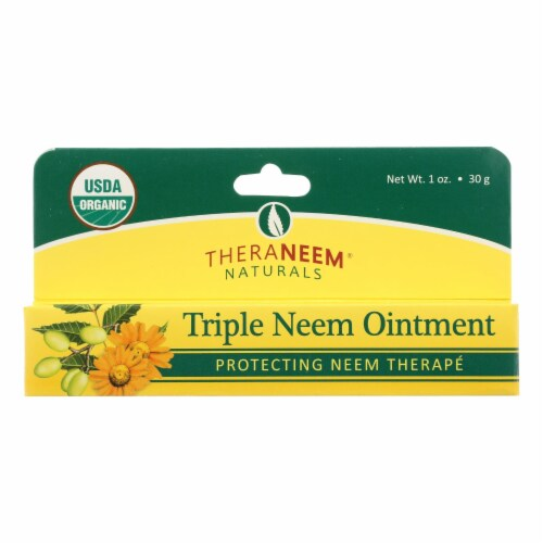 Theraneem Naturals - Ointment Triple Neem - 1 Each - 1 OZ Perspective: front