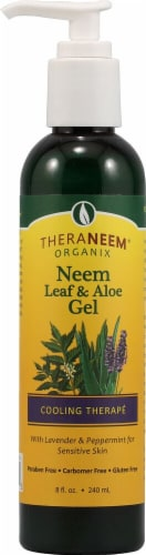Organix South TheraNeem® Neem Leaf and Aloe Gel Cooling Therapé Perspective: front