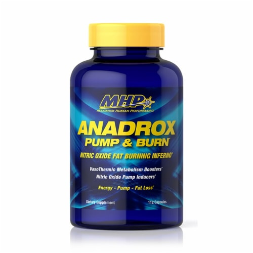 MHP  Anadrox Pump and Burn Perspective: front