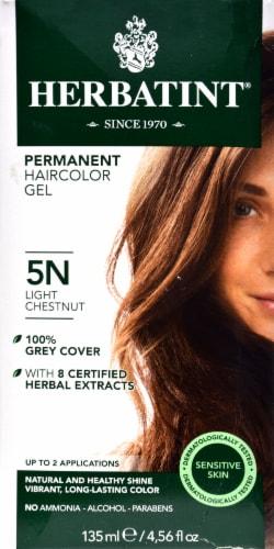 Herbatint 5N Light Chestnutpermanent Haircolor Gel Perspective: front