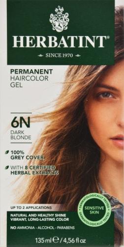 Herbatint 6N Dark Blonde Permanent Haircolor Gel Perspective: front