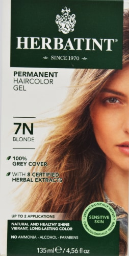 Herbatint 7N Blonde Permanent Haircolor Gel Perspective: front