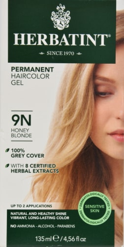 Herbatint 9n Honey Blonde Permanent Haircolor Gel Perspective: front