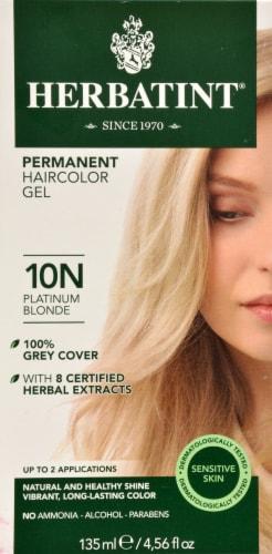 Herbatint 10N Platinum Blonde Permanent Hair Color Perspective: front