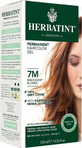 Herbatint  Permanent Haircolor Gel 7M Mahogany Blonde Perspective: front