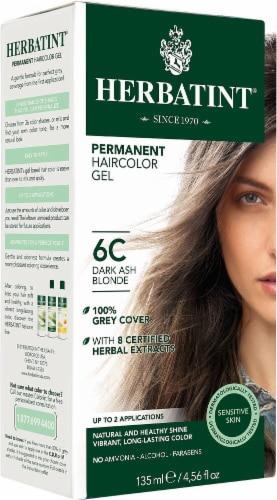 Herbatint  Permanent Haircolor Gel 6C Dark Ash Blonde Perspective: front