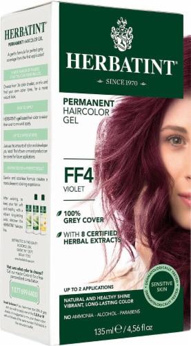 Herbatint  Permanent Haircolor Gel FF4 Violet Perspective: front