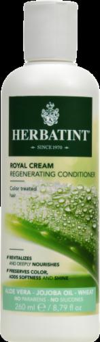Herbatint Royal Cream Regenerating Aloe Vera Conditioner Perspective: front