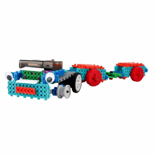 AZImport PB723 Building Blocks Build Robot Kit for Kids - 127 Piece Perspective: front