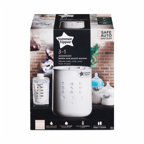 Tommee Tippee 3 in 1 Adv Bottle & Pouch Warmer Perspective: front