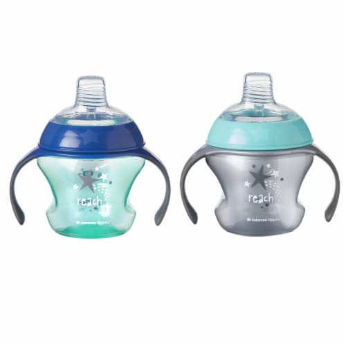 Tommee Tippee First Sips Transition Cups 2 Count Perspective: front