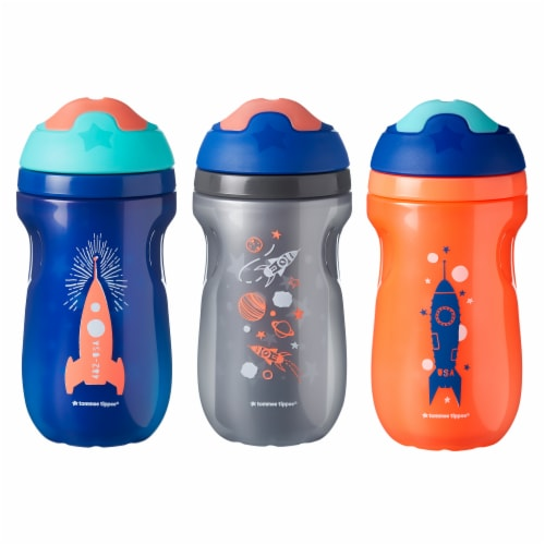 Tommee Tippee Insulated Sipper Tumblers 3 Count Perspective: front