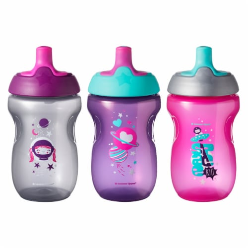 Tommee Tippee Sportee Bottles 3 Count Perspective: front