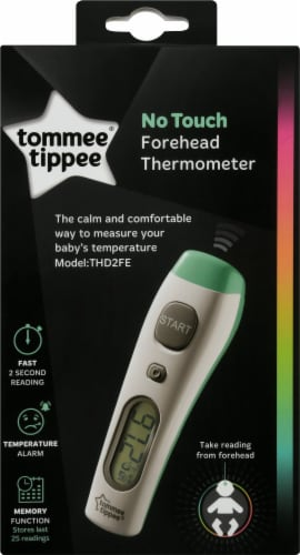 Tommee Tippee No Touch Digital Thermometer Perspective: front