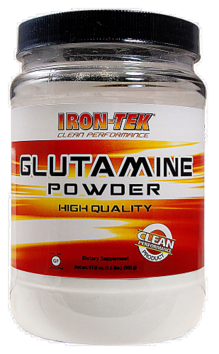Country Life Iron-Tek Essential Glutamine Powder Perspective: front