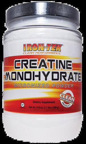 Iron-Tek Essential Creatine Monohydrate Perspective: front