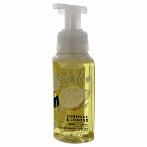 Bath and Body Works Sunshine and Lemons Hand Soap 8.75 oz Perspective: front