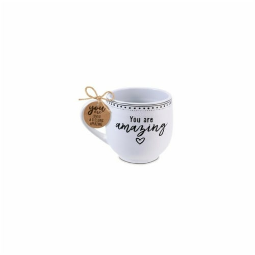 Lighthouse Christian Products 16 oz Philippians 1-7 Artisan Doodles You Are Amazing Perspective: front