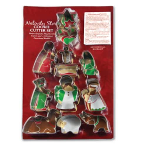 Lighthouse Christian Products Cookie Cutter - Nativity Set Perspective: front