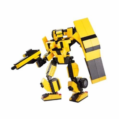 Sluban 256  Space - Cheetah Transformer Building Brick Kit (284 Pcs) Perspective: front