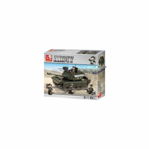 Land Forces Leading Tank Building Brick Kit (312 Pcs) Perspective: front
