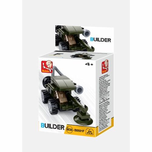 Sluban 667741116744 BUILDER-Army (31PCS) Perspective: front