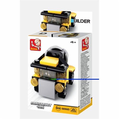 Sluban 667741116843 BUILDER-Construction Cement Truck (30PCS) Perspective: front