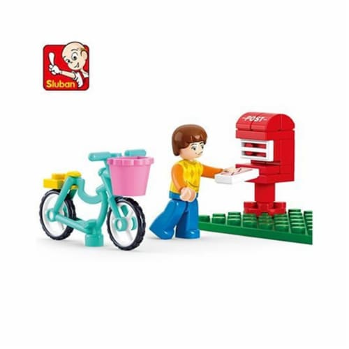 Sluban 516  Girls Dream Letter Delivery Boy (29 pcs) Perspective: front