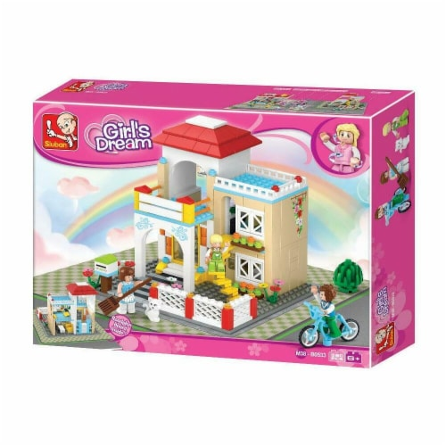 Sluban 533  Girl's Dream Sweet Home Building Brick Kit (380 pcs) Perspective: front
