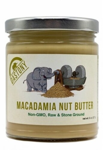 Windy City Organics Dastony Macadamia Nut Butter Perspective: front
