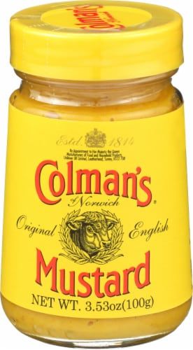 Colman's Original English Mustard Perspective: front