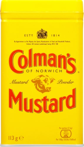 Colman's Dry Mustard Perspective: front
