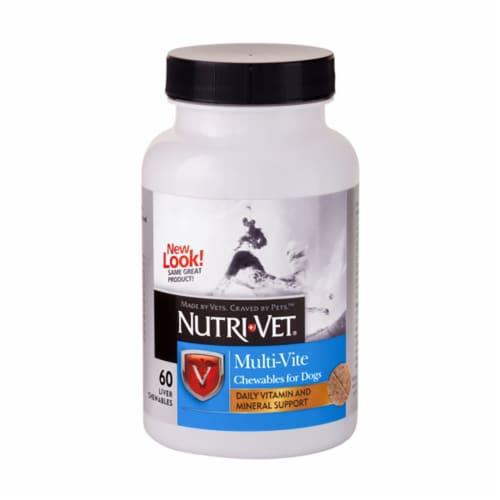 Nutri-Vet Multi-Vite Vitamins & Minerals Perspective: front
