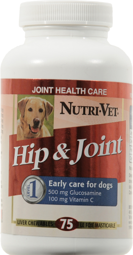 Nutri-Vet Hip & Joint Dog Health Care Perspective: front
