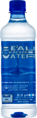 Real Water Alkalized Water Perspective: front