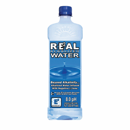 Real Alkalized Water Perspective: front