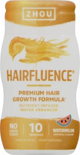 Zhou Hairfluence Watermelon Water Enhancer Perspective: front