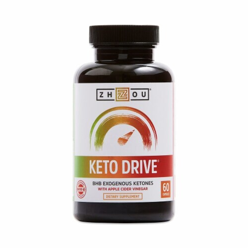 Zhou Keto Drive Capsules Perspective: front