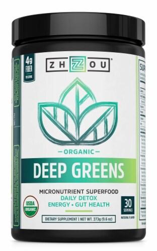 Zhou Deep Greens Dietary Supplement Perspective: front