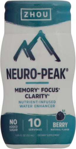 Zhou Neuro-Peak Berry Water Enhancer Perspective: front