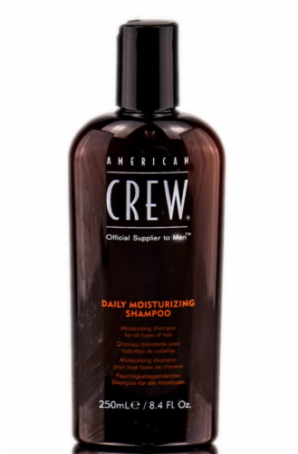 American Crew Daily Moisturizing Shampoo for Men Perspective: front