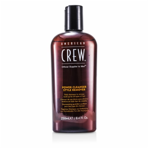 Power Cleanser Style Remover Shampoo by American Crew for Unisex - 8.4 oz Shampoo Perspective: front