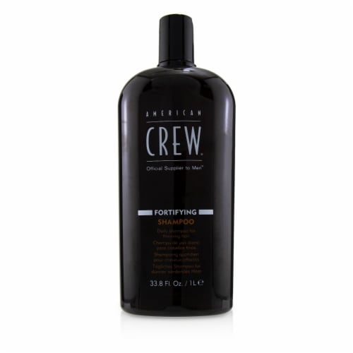 American Crew Men Fortifying Shampoo (Daily Shampoo For Thinning Hair) 1000ml/33.8oz Perspective: front
